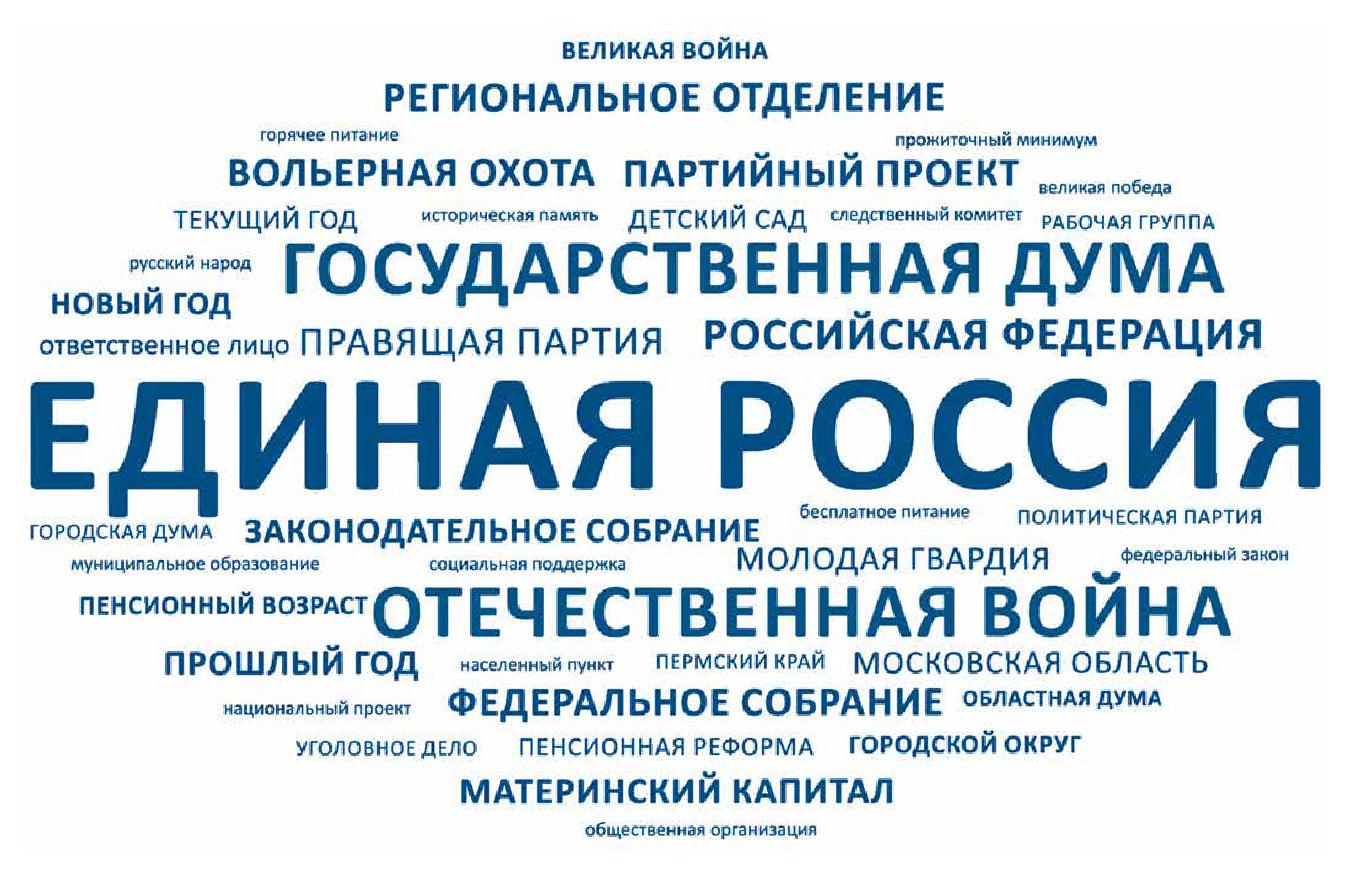 Партия «Единая Россия» в социальных медиа