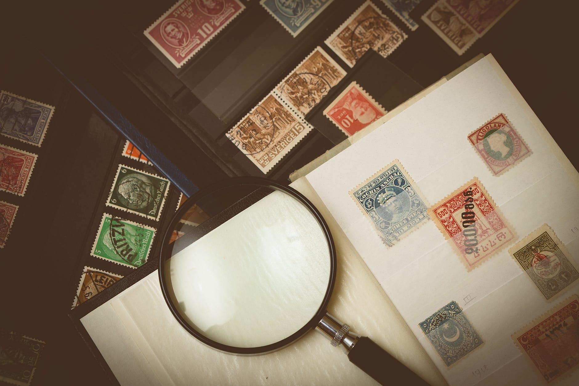Почтовые марки как идеологическое оружие